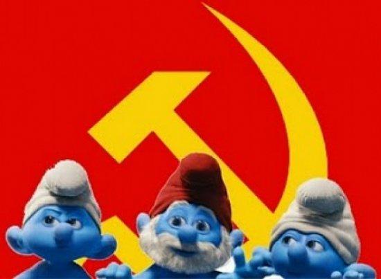 Αποδείξεις ότι τα στρουμφάκια είναι ...κομμουνιστές!
